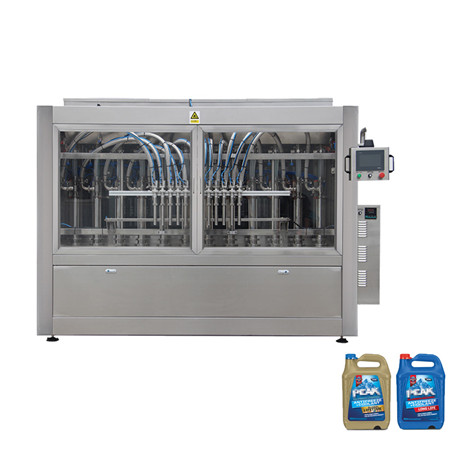 Automatic Linear Piston Pressure Liquid Plastic Bottle Edible Lube Oil Filler Filling Machine Machinery for Packing Machine