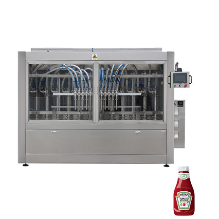 High Speed Automatic Sanitiser Bottle Filling Machine