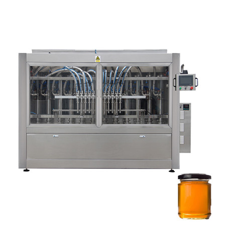 High Quality and High Precision Double - Head Rotary Cream Filling and Capping Machine