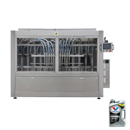 Pharmaceutical Liquid Capping Bottling Sealing Filler with Plunger