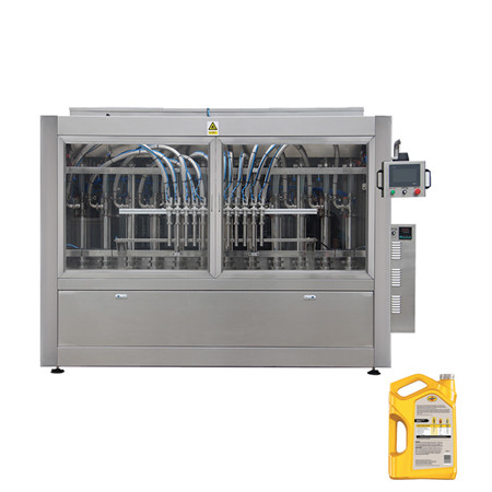Automatic 3L-10L Big Bottle Water Oil Washing Filling Capping Labeling Packing Equipment Machine