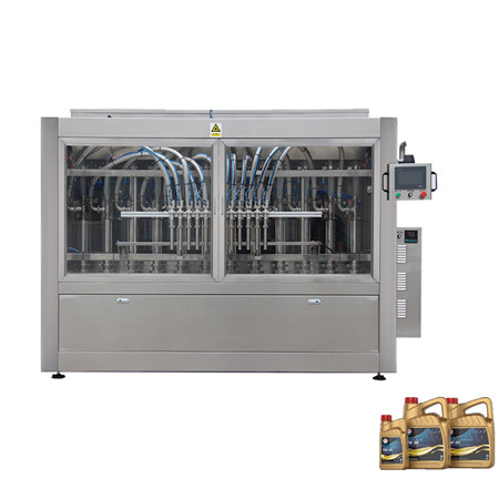 New Design Automatic Motor Lube Engine Oil Bottle Filling Capping Machine