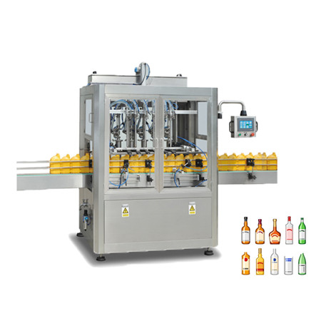 Automatic Olive Oil Coconut Oil Cooking Oil Bottle Filling Machine