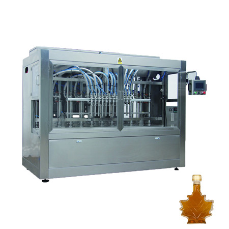 High Accuracy Automatic High Viscosity Piston Liquid Filling Machine Automatic Liquid Piston Filler for Filling Honey
