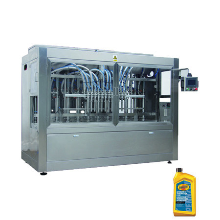 Lubricant Oil/Lube Oil/Cookie Oil/Food Oil Big Drum Jerry Can 20L Filling Line Weight Filling Machine