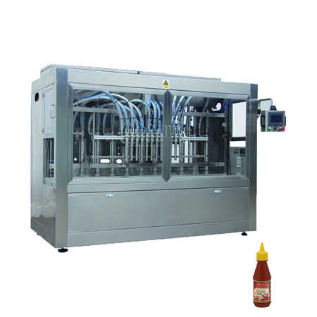 Semi-Automatic Single Nozzle Cream Honey Chocolate Sauce Water Bottle Packaging Filling Machine with Heater Filler
