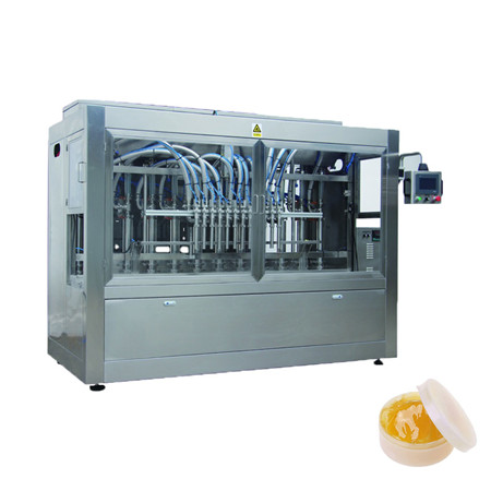 Automatic Lube Oil and Liquid Paste Filling Machine
