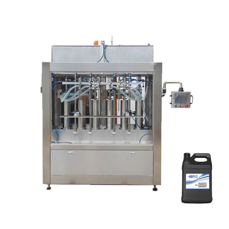 Bottle Liquid Paste Cream Sauce Jam Fill Capping Production Line Linear Type Automatic 4 Nozzle Filling Machine