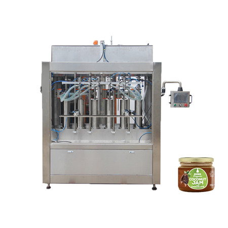 China Factory Automatic Pure Water/Mineral Water/Liquid Plastic Bottle 6 Heads Filling Capping Machine Production Line