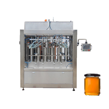 Semi automatic ice cream water liquid honey juice sauce soft drink tomato paste filling machine