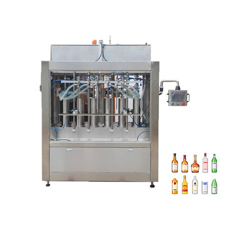 Packaged Drinking Water Filling Machine for 500ml Plastic Bottle