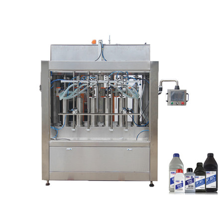 Automatic 10-30L PLC Controlled Servo Piston Type Lube Oil Liquid Filling Machine