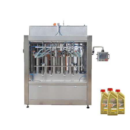 Complete Piston Type Hand Wash Liquid Filling Line
