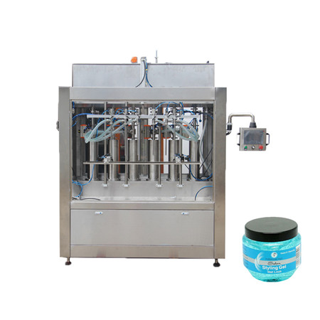 Semi Automatic Piston Paste Filler Cosmetic Filling Machine