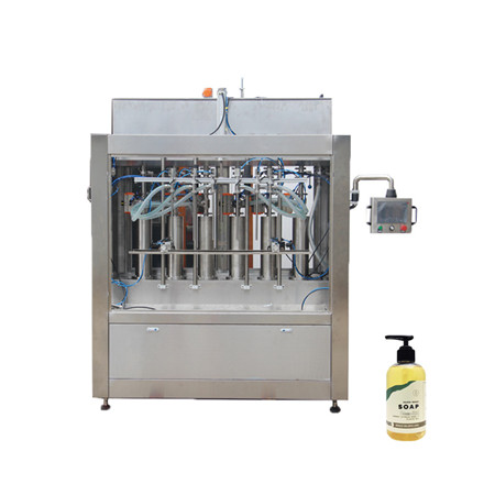 High Speed Automatic Hand Sanitizer Bottles Filling Machine with Ce