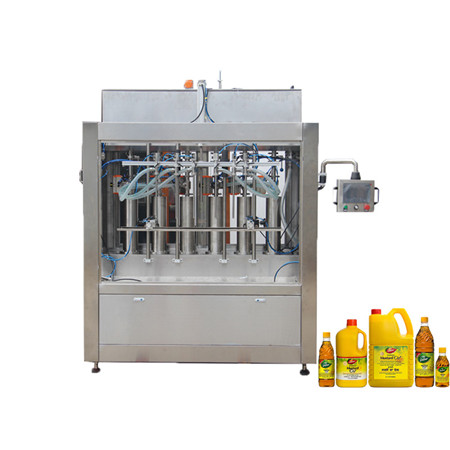 Lubrication Lube Motor Oil Bottle Weighing Filling Machine