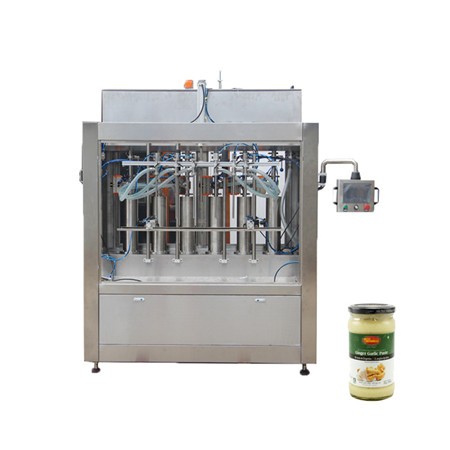 Liquid Filling Systems of Split Pure Water Filling Line on Bottles for Water Filling Machinery