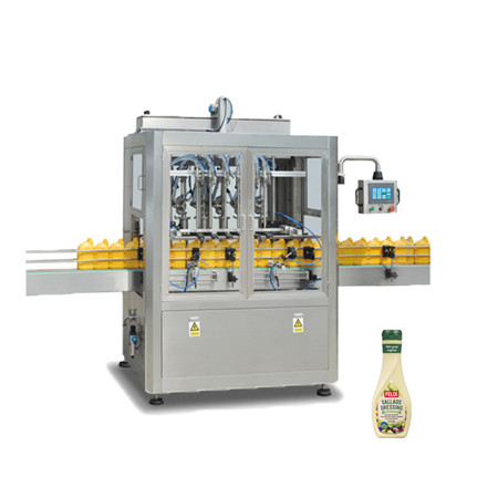 2016 New Products SUS 304 Material Double-Head Aseptic Filling Machines