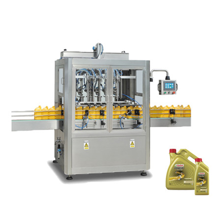 Full Automatic Cooking Edible Oil Filler Sealing and Packing Machine for Pet Bottle