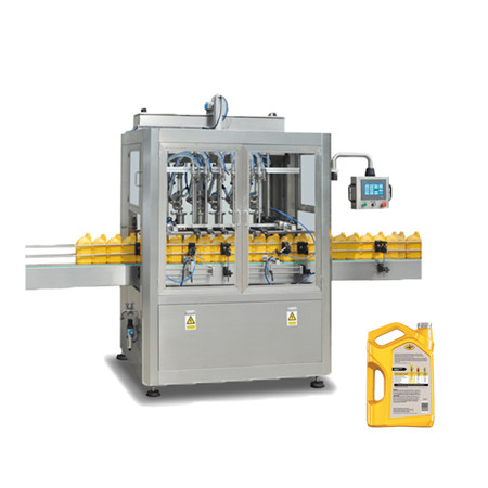 Glass Plastic Bottle Automatic Vacuum Filling Capping Packing Machine