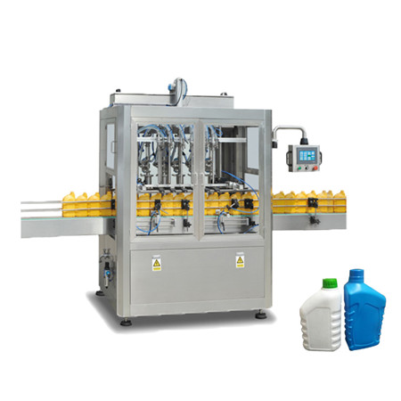 High Quality Double Head Magnetic Pump Corrosion- Resistant Liquid Filling Machine