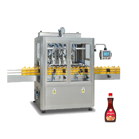Automatic Bottle Oil Liquid Filling Machine with Sealing Capping Labeling Line