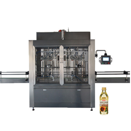 Coconut Olive Essential Edible Sunflower Lubricant Oil Packing Pet Bottle Production Line Oil Filling Machine