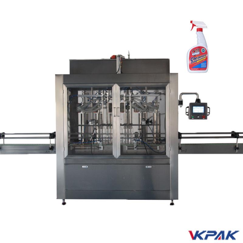 Liquid Cleaner Filling Machine