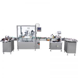 Oil Filling And Corking And Capping Machine